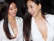 Lấp ló ngực trần, hoa hậu Hàn lập tức lên Top 1 tìm kiếm