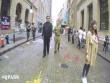"""Video: Dân Mỹ kinh ngạc khi thấy """"Kim Jong-un"""" nện gót ở New York"""