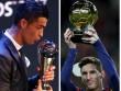 """Messi thua Ronaldo """"The Best"""", thắng """"Quả bóng Vàng"""": Tại sao không?"""