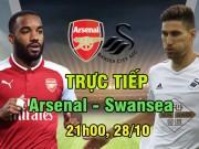Chi tiết Arsenal - Swansea: Nhẹ nhàng bảo toàn thành quả (KT)