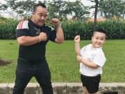 Con trai Hiếu Hiền thích được đóng phim cùng bố