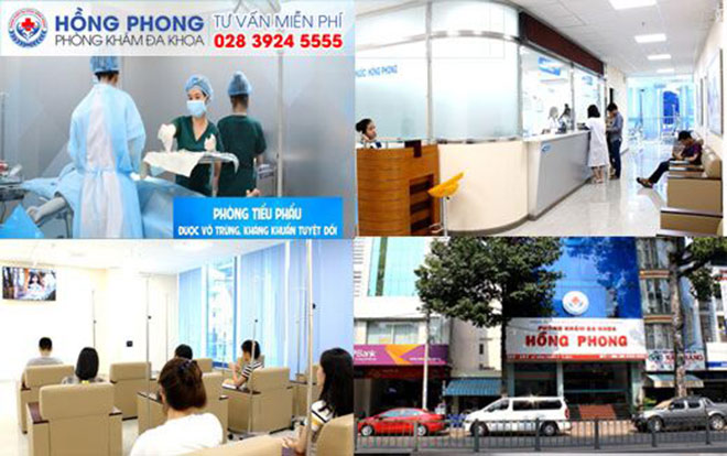 Phòng Khám Đa Khoa Hồng Phong - Địa chỉ chữa bệnh uy tín tại TPHCM - 1