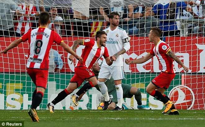 Những ngôi sao của Real chơi mờ nhạt trước Girona