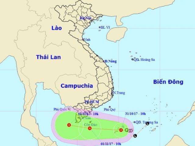 Bão và áp thấp nhiệt đới sắp cùng lúc hoành hành trên Biển Đông - 2
