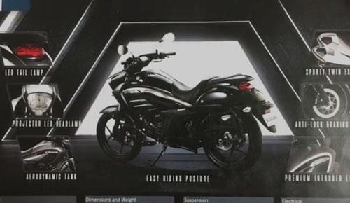 Lộ ảnh Suzuki Intruder mới, đẹp miễn chê - 1