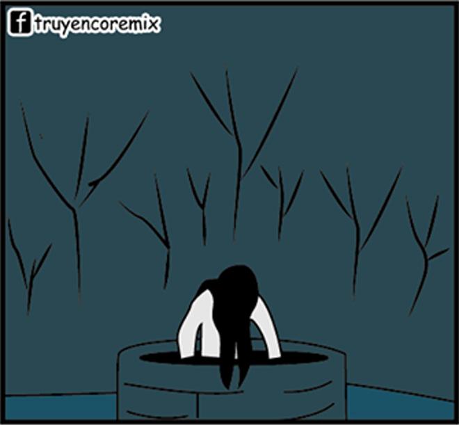 """""""Hồn ma dưới giếng"""" bị làm nhục trong đêm Halloween - 1"""