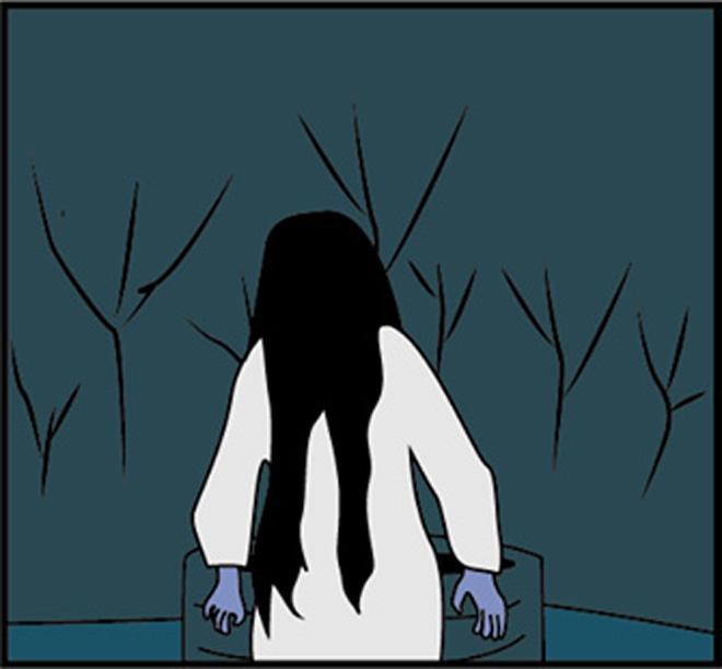 """""""Hồn ma dưới giếng"""" bị làm nhục trong đêm Halloween - 2"""