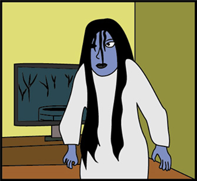 """""""Hồn ma dưới giếng"""" bị làm nhục trong đêm Halloween - 4"""