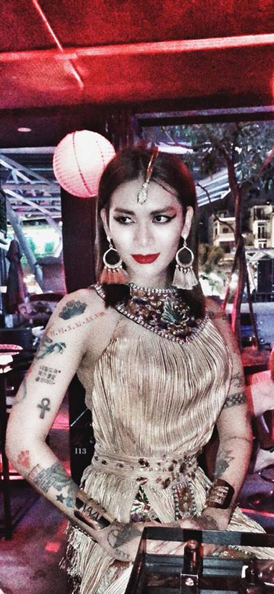 Dàn sao Việt hóa trang ma quái trong đêm Halloween - 4