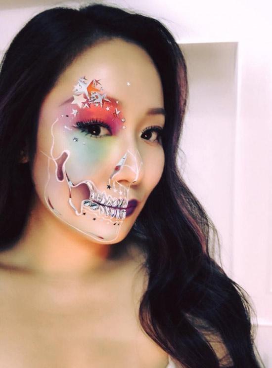 Dàn sao Việt hóa trang ma quái trong đêm Halloween - 1
