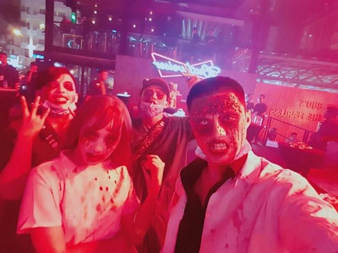 Dàn sao Việt hóa trang ma quái trong đêm Halloween - 8