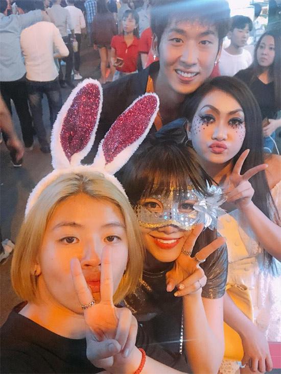 Dàn sao Việt hóa trang ma quái trong đêm Halloween - 5