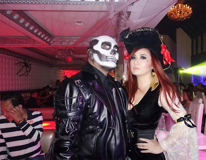 Dàn sao Việt hóa trang ma quái trong đêm Halloween - 10