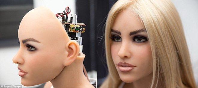 Robot tình dục biết thẹn thùng, pha trò và thấu hiểu - 2