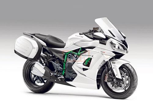 "Kawasaki Ninja H2 SX ""siêu khủng"" sắp ra mắt - 1"