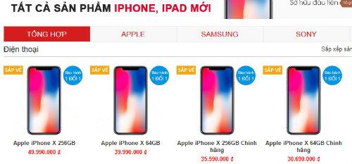SỐC: iPhone X xách tay về Việt Nam có giá đắt 100 triệu đồng? - 1