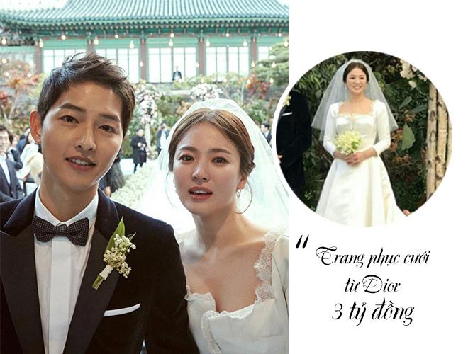 Những con số tiền tỷ giật mình trong tiệc cưới Song Hye Kyo - 1