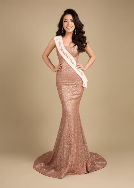Á hậu Việt có vòng ba 1 mét sẽ dự thi Hoa hậu Siêu quốc gia - 1