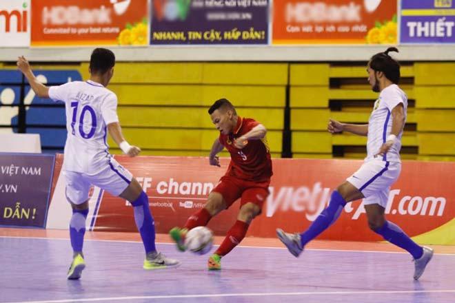 Việt Nam - Malaysia: Cơn mưa bàn thắng, tỷ số gây sốc (Futsal) - 1
