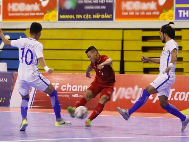 Sốc, Futsal Việt Nam thua cả Myanmar - 5