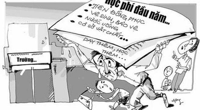 Bộ Giáo dục và Đào tạo quyết xử lý dứt điểm lạm thu trường học - 1