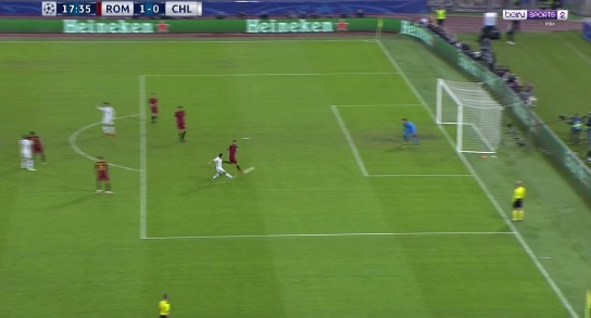 "Chi tiết AS Roma - Chelsea: Tan nát ""The Blues"" (KT) - 3"
