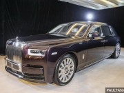 Rolls-Royce Phantom 2018 giá 12 tỷ đồng ở châu Á