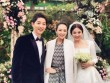 Chồng Chương Tử Di bị chỉ trích vì phát trực tiếp hôn lễ của Song Hye Kyo