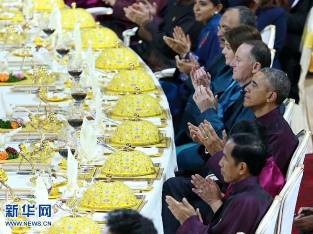 Việt Nam tổ chức tiệc chiêu đãi APEC rực rỡ và hoành tráng - 5