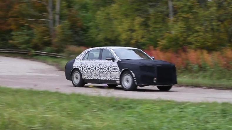 Siêu xe bí ẩn phục vụ Tổng thống Nga Putin lần đầu lộ diện - 1