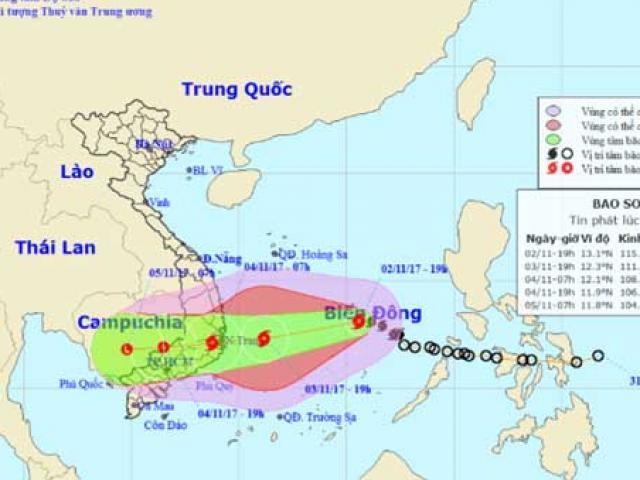 Bão số 12 đe dọa nhưng Sài Gòn vẫn hửng nắng, liệu có bất thường? - 2
