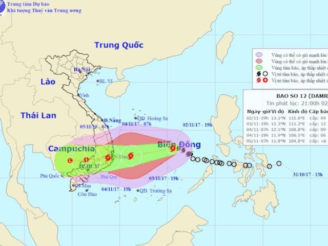 """Nóng 24h qua: """"Giải mã"""" hiện tượng TP.HCM hửng nắng dù bị bão đe dọa - 6"""
