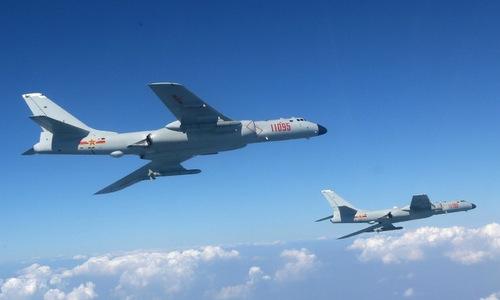 """Sức mạnh oanh tạc cơ H-6K Trung Quốc """"giỡn mặt"""" đảo Guam - 1"""