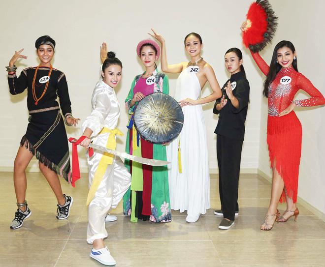 Màn múa đầy mê hoặc tại Hoa hậu Hoàn vũ Việt Nam - 2