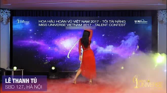 Màn múa đầy mê hoặc tại Hoa hậu Hoàn vũ Việt Nam
