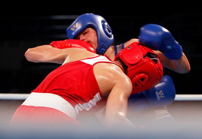"""2 người đẹp boxing Việt Nam """"vùi dập"""" cao thủ, đại thắng ở giải châu Á - 9"""