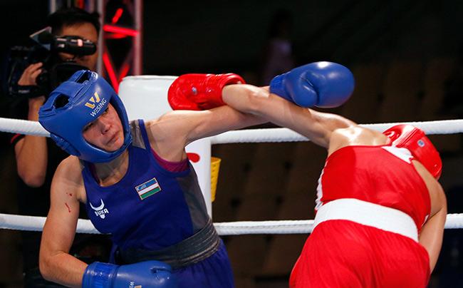 """2 người đẹp boxing Việt Nam """"vùi dập"""" cao thủ, đại thắng ở giải châu Á - 10"""