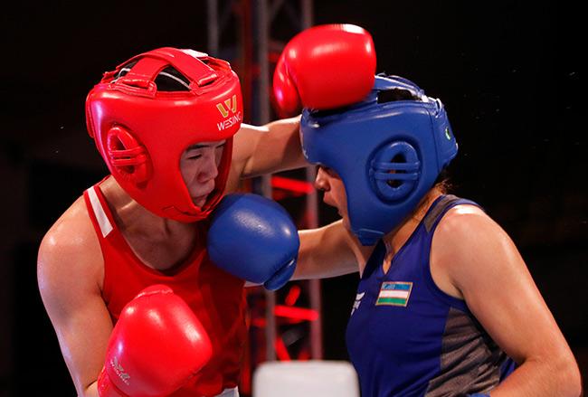 """2 người đẹp boxing Việt Nam """"vùi dập"""" cao thủ, đại thắng ở giải châu Á - 12"""