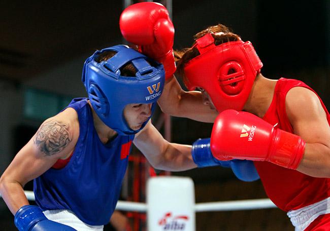 """2 người đẹp boxing Việt Nam """"vùi dập"""" cao thủ, đại thắng ở giải châu Á - 4"""