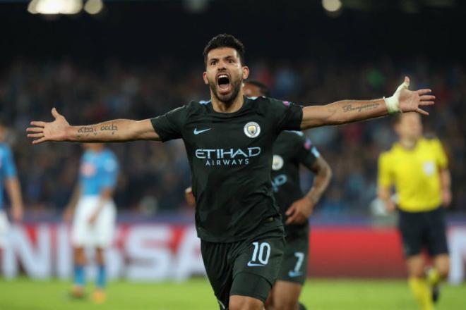 Man City giành vé knock-out trước MU: Aguero lập kỳ tích 178 bàn, đi vào lịch sử - 1