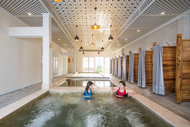 Nơi nghỉ dưỡng đặc biệt với nước khoáng nóng tăng cường sức khoẻ - 2