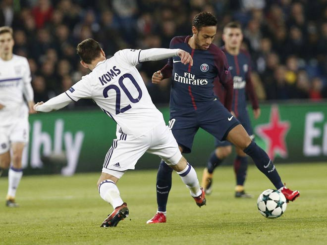 "PSG 17 bàn 4 trận Cúp C1: ""Quỳ rạp"" Neymar – Cavani – Mbappe - 2"