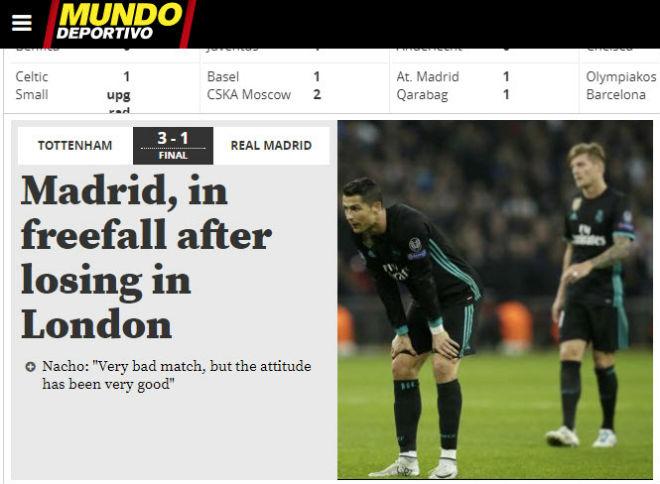 Real thua đau Tottenham: Báo Anh ngây ngất, triệu fan lo cho Zidane - 7