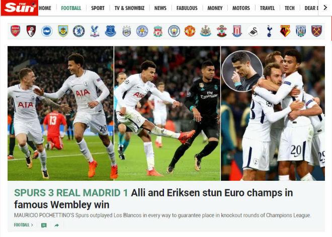 Real thua đau Tottenham: Báo Anh ngây ngất, triệu fan lo cho Zidane - 9