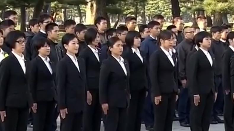 Đội nữ cảnh sát đặc biệt bảo vệ vợ ông Trump ở Nhật Bản - 1