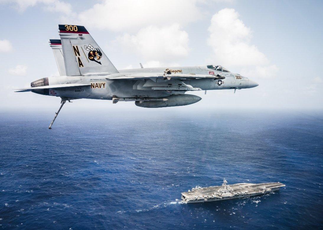 3 đội tàu sân bay Mỹ đem dàn vũ khí hùng hậu áp sát Triều Tiên - 3