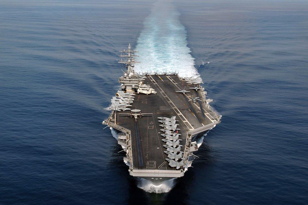 3 đội tàu sân bay Mỹ đem dàn vũ khí hùng hậu áp sát Triều Tiên - 2