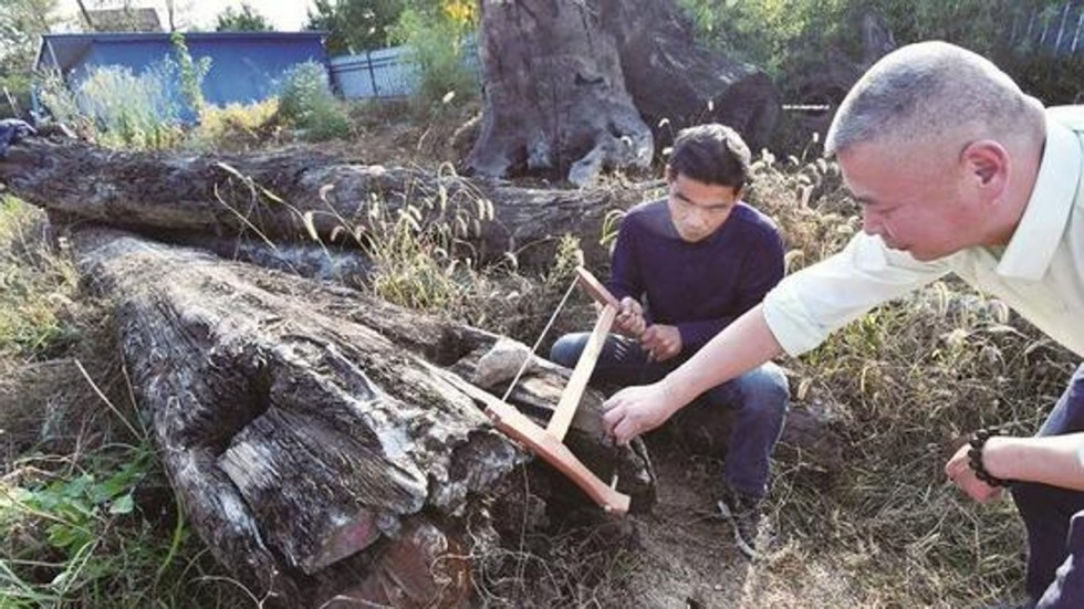 TQ: Miếng gỗ xấu vứt chỏng chơ hóa ra là vật báu 69 tỷ đồng - 1