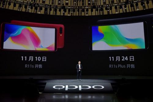 CHÍNH THỨC: Oppo R11s và R11s Plus trình làng, màn hình tỉ lệ 18:9 - 12