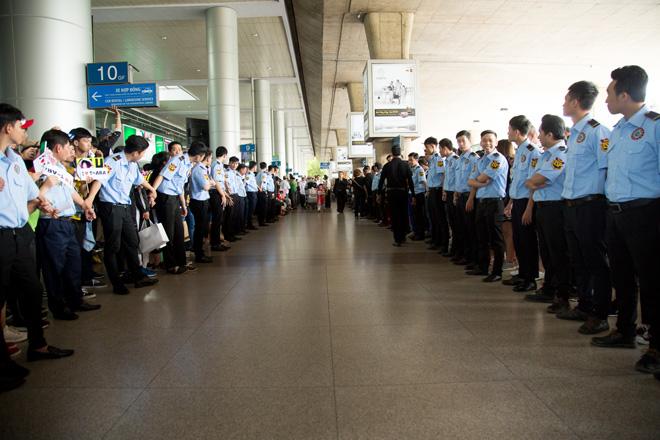 Fan Việt hoá trang, giăng băng rôn cầu hôn T-ara tại sân bay - 4